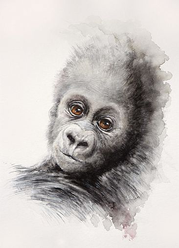 dissolve 15: Children are our Future - Gorilla by Norbert Gramer