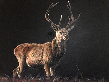 Red Stag - Big Game by Janice Stubbs