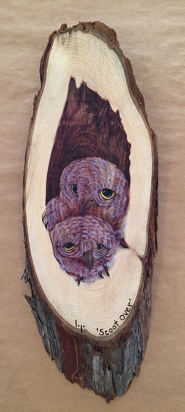 Scoot Over - Owlets by Betsy Popp