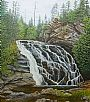 A Walk Rewarded - Waterfall by C. Frederick Lawrenson&nbsp(2)