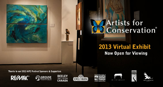 Artists for Conservation presents 2013 Artists for Conservation Virtual Exhibit